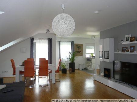 Dachgeschosswohnung zur Miete - Stadtteil Knielingen